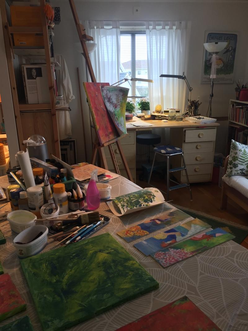 Bild på mitt arbetsrum